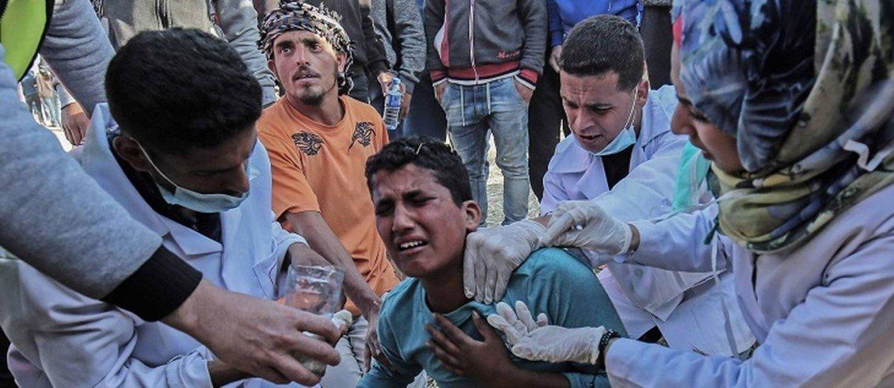 Resultado de imagem para Brasil recomenda diálogo para encerrar escalada de violência em Gaza